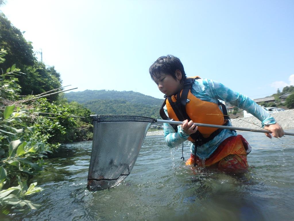 8月水辺の教室川漁師になってみよう!