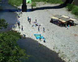河童sスクールin園瀬川2018