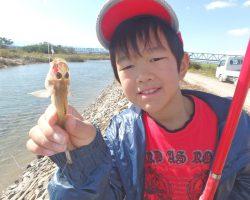 10月水辺の教室 旬のはぜを釣りまくる!