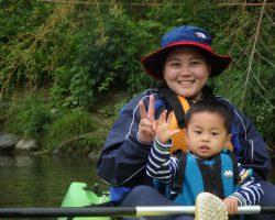 5月 はんもっく(モクイチ) カヌー体験