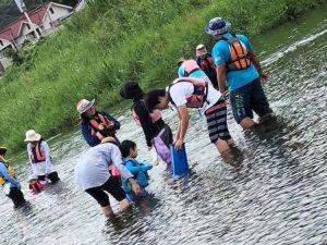 9月 はんもっく(モクイチ) 川で遊ぼう~