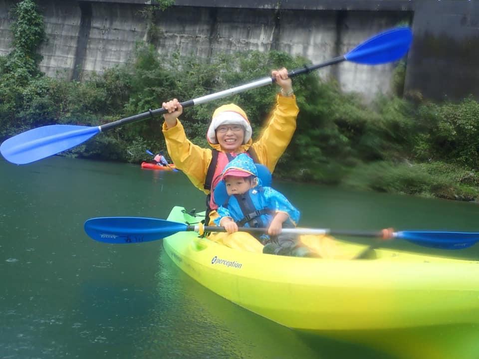 10月 はんもっく(モクニ) 秋のカヌー体験