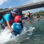 9月水辺の教室「川を感じよう〜川の危険を体験〜」