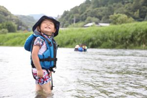 7月 はんもっく(モクニ) 川を感じよう
