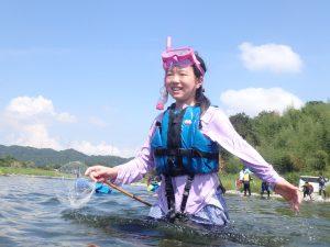 8月水辺の教室「川漁師になってみよう!」