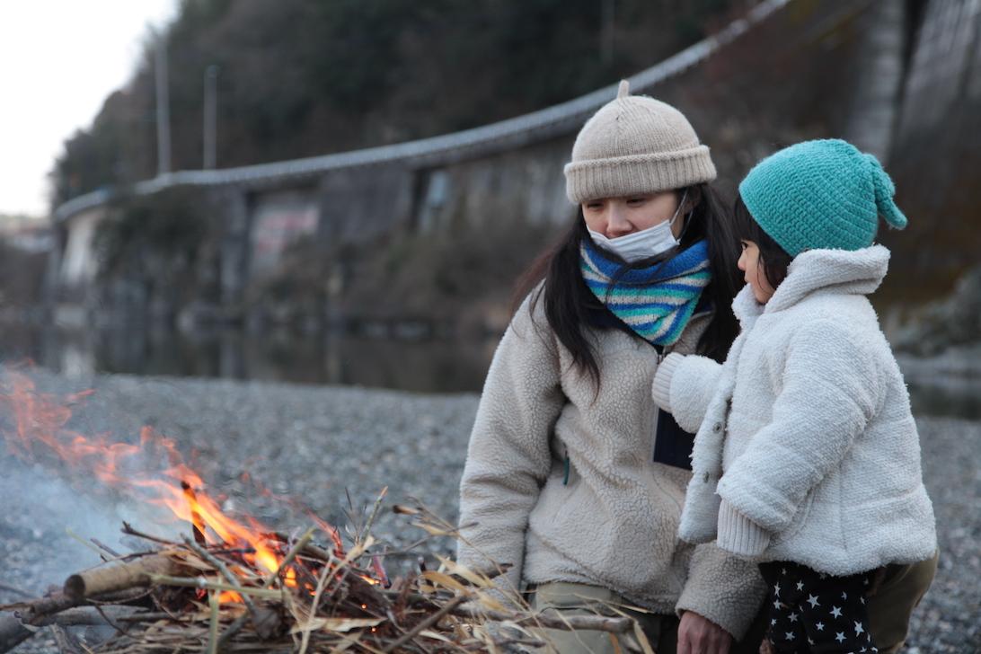 1月 はんもっく(モクイチ) 冬の川で、焚き火で遊ぼう!