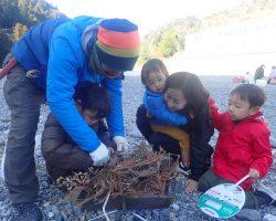1月 はんもっく(スイヨウ) 冬の川で、焚き火で遊ぼう!