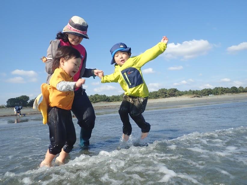 11月 はんもっく(水曜日) 小松海岸で遊ぼう