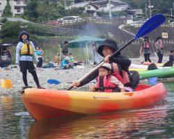 10月 はんもっく(モクイチ) 秋のカヌー体験