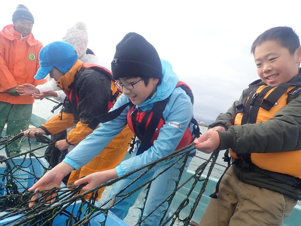 12月水辺の教室「すじ青のり「ってなぁに?~青のり漁を体験して食べてみよう~」