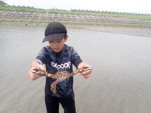 7月水辺の教室「吉野川で宝物を見つけよう」