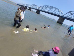 8月 はんもっく(スイヨウ) 干潟で遊ぼう!