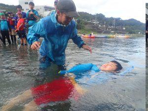 9月水辺の教室「川を感じよう!」