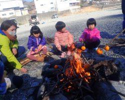 1月 はんもっく(モクニ) 冬の川で、焚き火で遊ぼう!