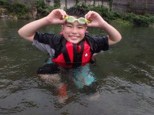 7月水辺の教室「川でキャンプをしよう!」