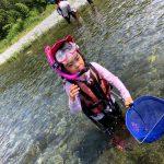 7月 はんもっく 夏の川で遊ぼう!